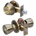 Comb. Entry Lock/Single DeadBolt- Yale