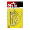 7PC Hex Key Wrench Set - G/NECK