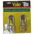 110-50 KA3 Padlock- Key-Alike -YALE
